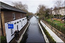 TQ2681 : Grand Union Canal, Little Venice by Ian S