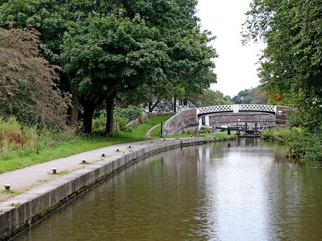 Caldon Canal at Hazelhurst Junction, Staffordshire