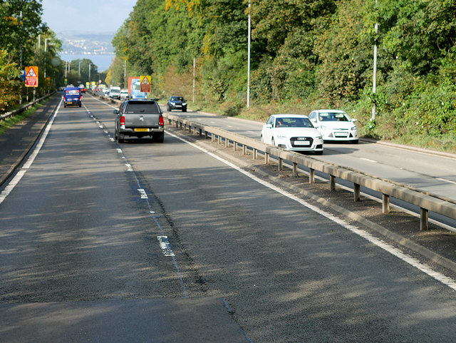 A82, Great Western Road, at Bowling