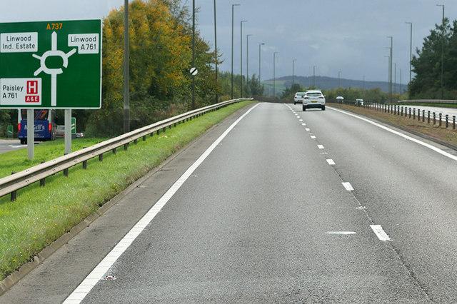 A737 at Linwood