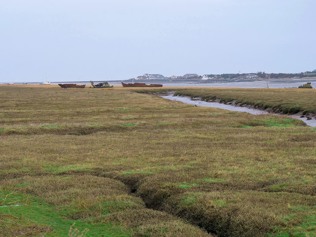 Salt Marsh on the Banks of the Wyre