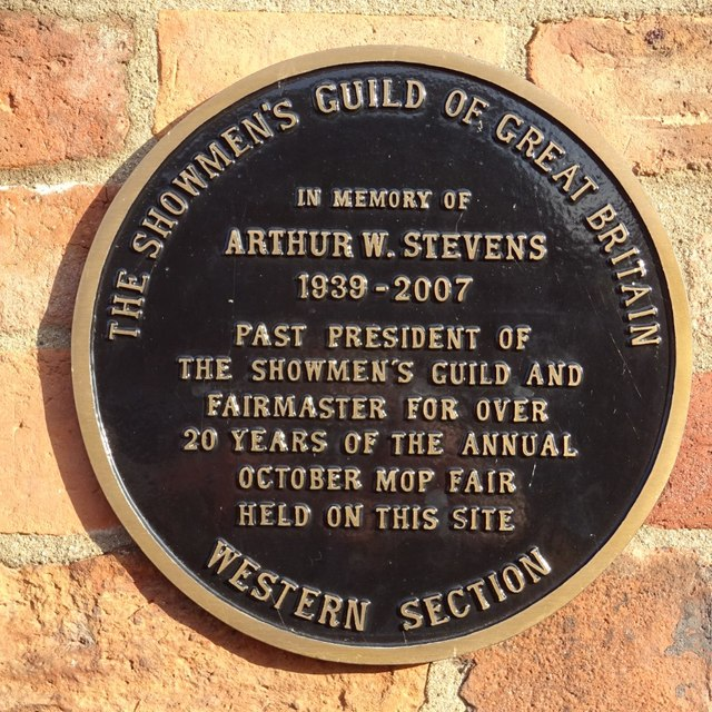 Plaque to Arthur Stevens