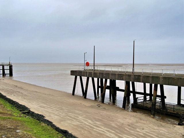 Disused Jetty at Fleetwood Ferry Port