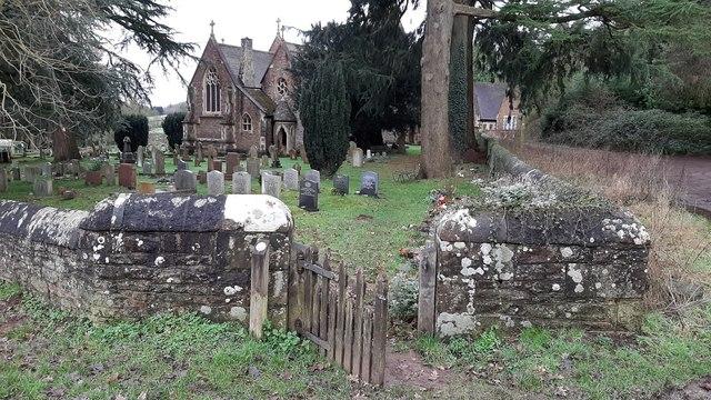Gate into the churchyard