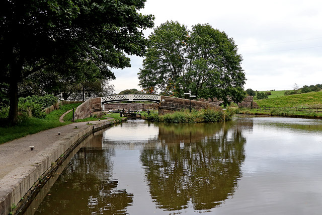 Hazelhurst Junction in Staffordshire