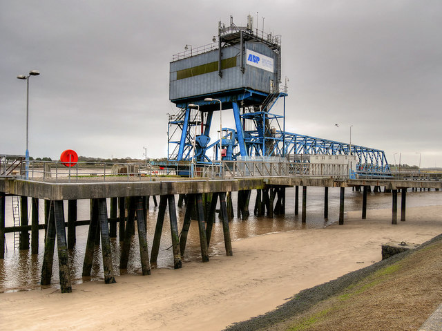 Disused Landing Stages, ABP Fleetwood Ferry Terminal