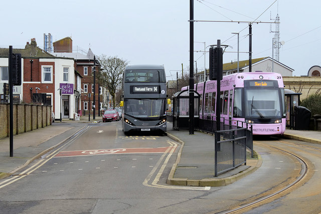 Fleetwood Ferry Bus and Tram Terminus