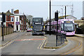 SD3348 : Fleetwood Ferry Bus and Tram Terminus by David Dixon