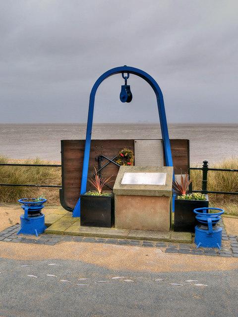 Fishermen's Memorial, Fleetwood Esplanade