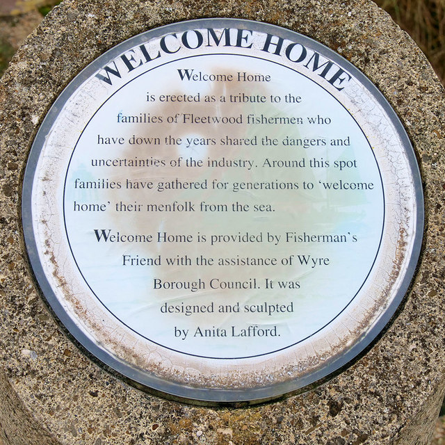 Welcome Home (plaque)