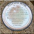 SD3348 : Welcome Home (plaque) by David Dixon