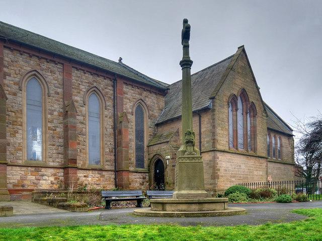 War Memorial at St Peter's Church