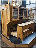 SK3871 : Organ console, St Mary & All Saints' church, Chesterfield by Julian P Guffogg
