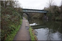TQ2182 : Grand Union Canal towards Acton Lane by Ian S
