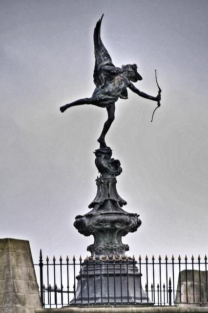 Fleetwood's Eros Statue