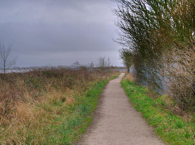 The Wyre Way near Thornton ICI