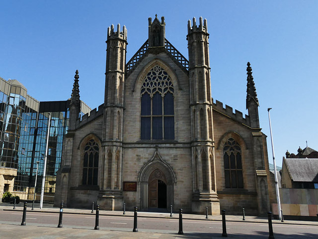 St Andrew's Cathedral, Glasgow - front