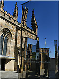NS5964 : St Andrew's Cathedral, Glasgow - reflections by Stephen Craven