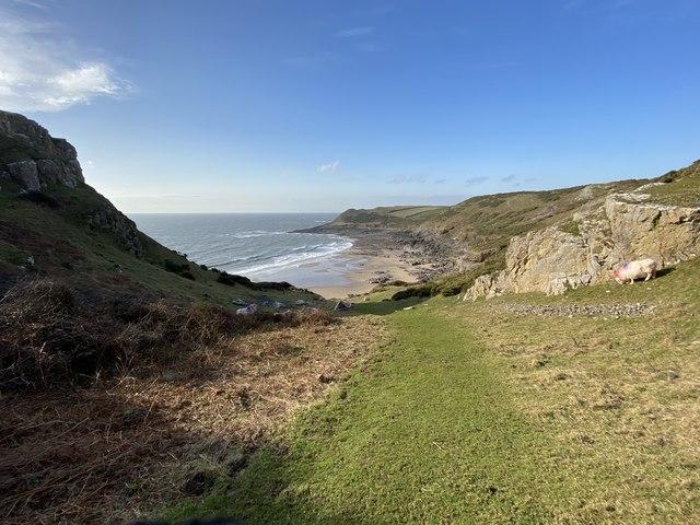 Path to Fall Bay