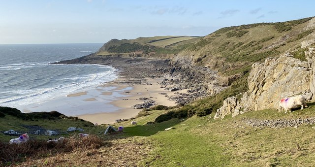 Fall Bay and Tiers Point