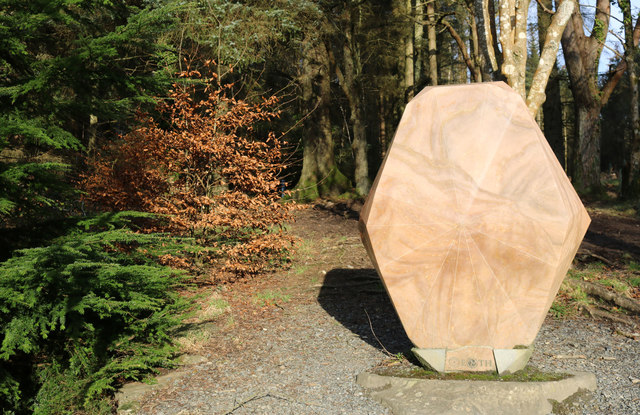 Gem Stane and Woodland, Kirroughtree Forest