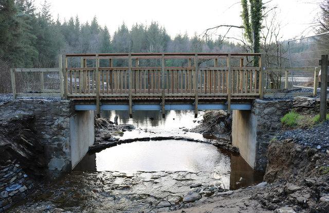 Bridge over the Bruntis Burn