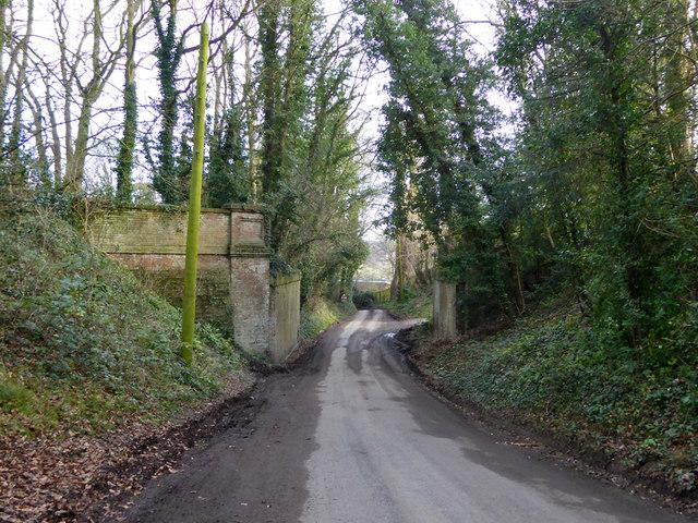 Former railway bridge, Barham