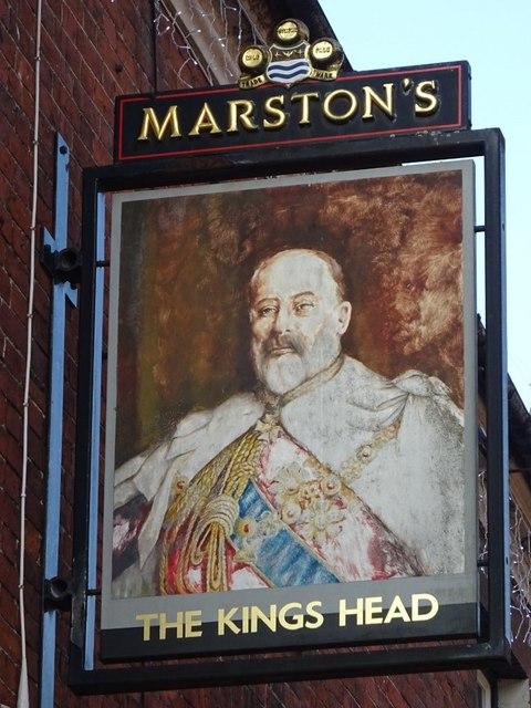 The King's Head inn sign