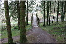 NX4564 : Bike Trail over the Big Wheel by Billy McCrorie
