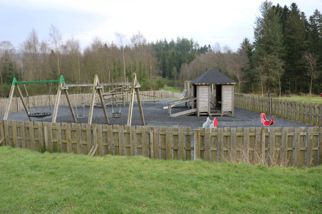 Kid's Play Area at Kirroughtree Visitor Centre