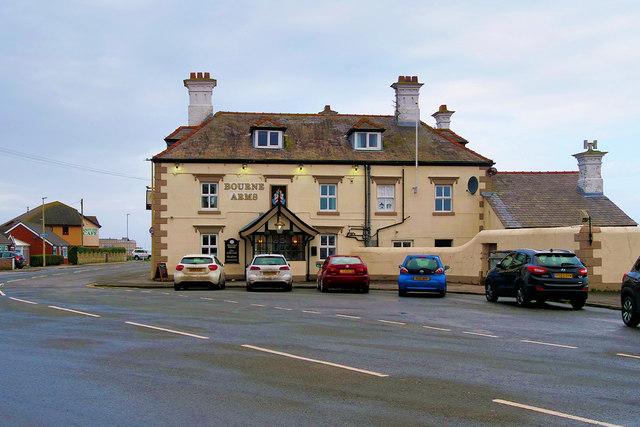 The Bourne Arms Public House, Knott End