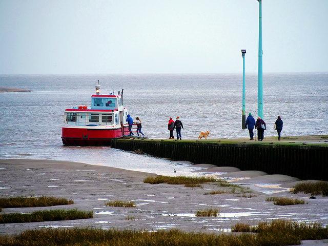 Ferry Slipway at Knott End