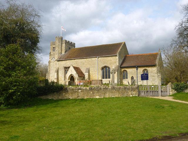 Nether Winchendon church