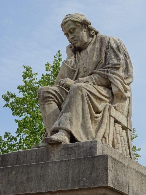 Statue of Dr Samuel Johnson
