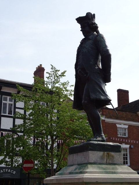 Statue of James Boswell
