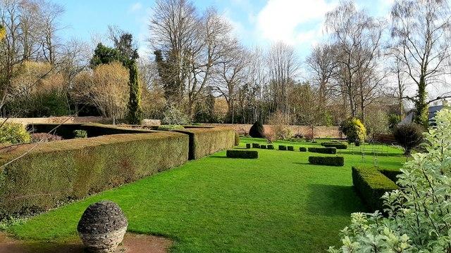 The Hill Gardens, Abergavenny