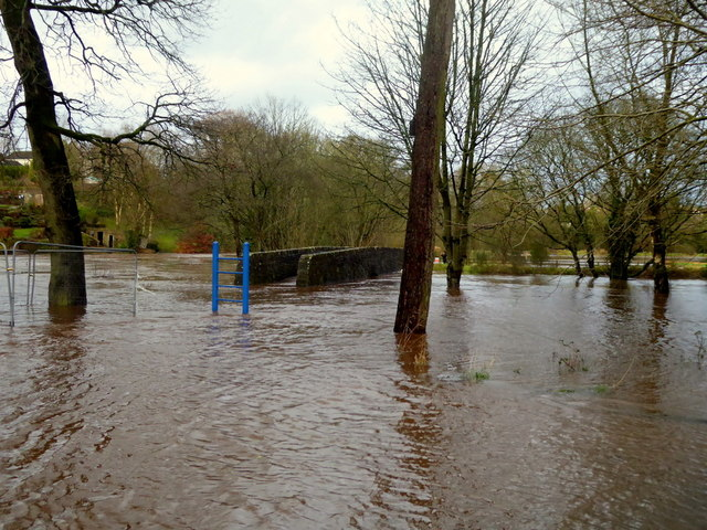 Flooding caused by Storm Ciara