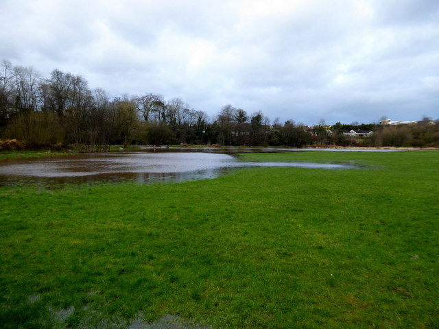 Flooding at Cranny Playing Fields, Mullaghmore