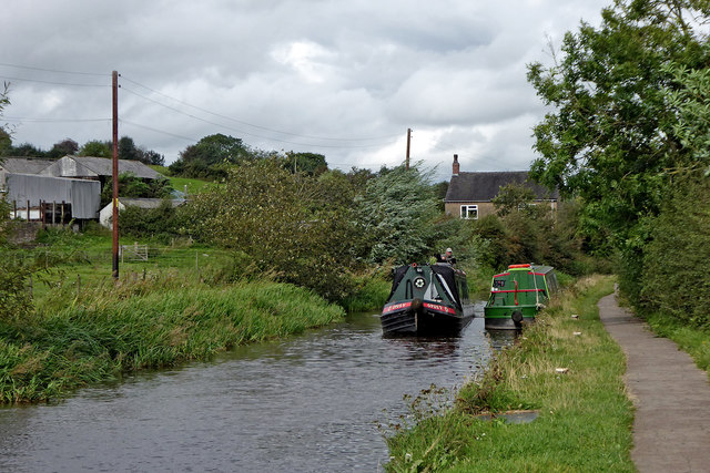 Canal south of Norton Green, Stoke-on-Trent