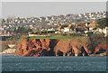 SX9062 : Cliff fall, Livermead by Derek Harper