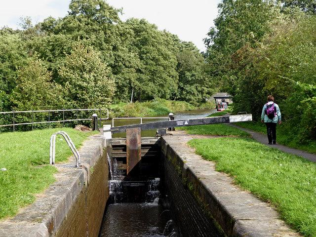 Stockton Brook Bottom Lock, Stoke-on-Trent