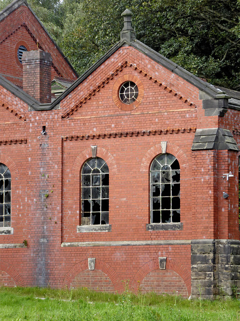 Stockton Brook Waterworks (detail), Stoke-on-Trent