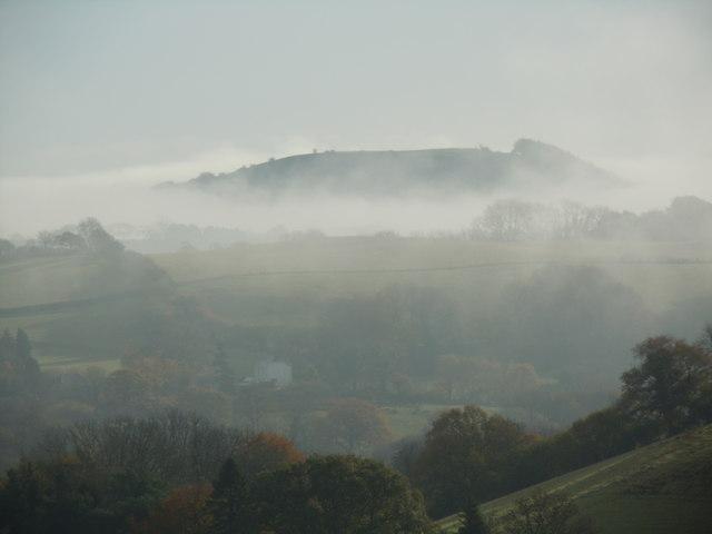 Bore niwlog yn Nyffryn Gwili / Misty morning in Gwili Valley
