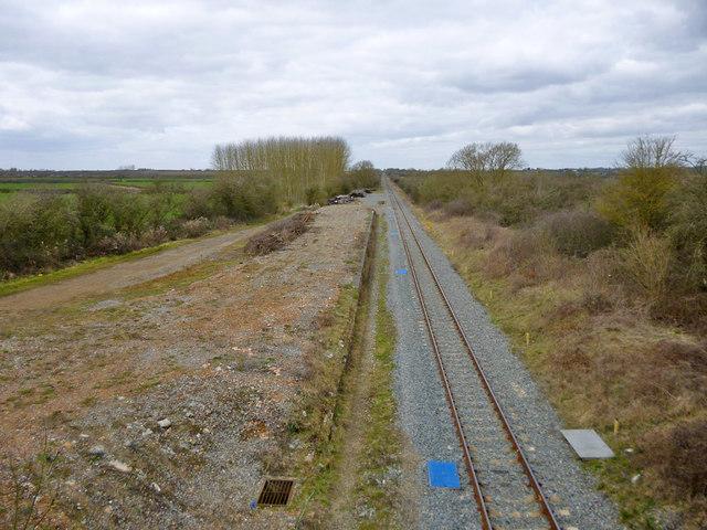 Site of Waddesdon station