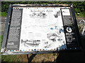 SP9114 : British Waterways information board near Startop's End by David Hillas