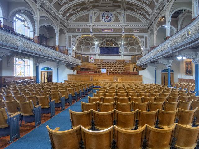The Victoria Hall, Bolton Methodist Mission