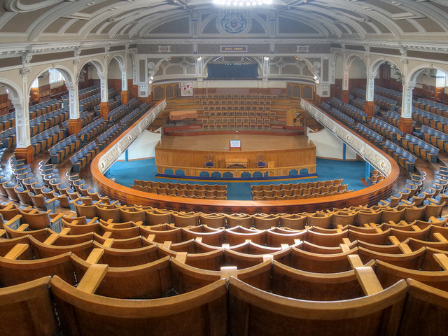 Victoria Hall - a view from the gallery