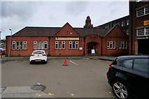 SD7109 : Victoria Hall (rear/side elevation) Ridgeway Gates by David Dixon