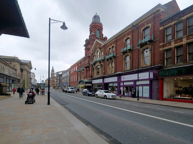 Knowsley Street, The Victoria Hall