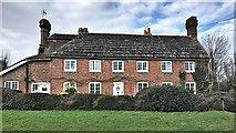 TQ2115 : Henfield, Sussex - cottages overlooking Rothery Field by Ian Cunliffe